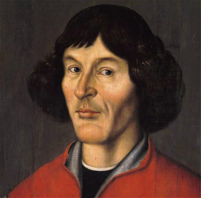 哥白尼畫像。網上圖片
