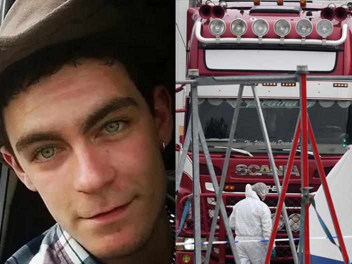 涉嫌謀殺的25歲的北愛司機羅賓遜。AP圖片