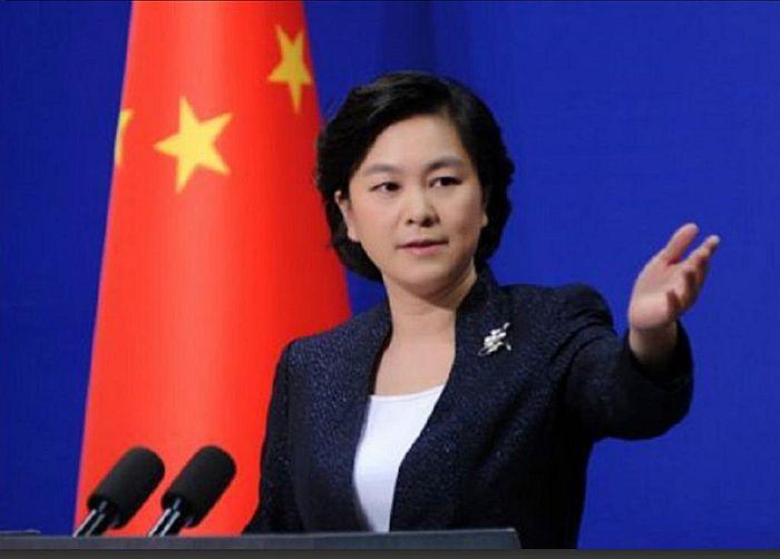 外交部发言人华春莹。资料图片