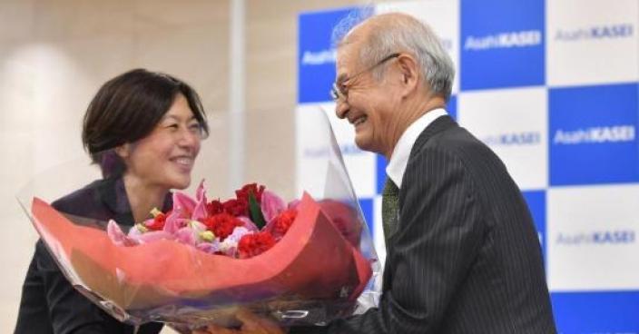 吉野彰为日本带来新希望。(资料图片)