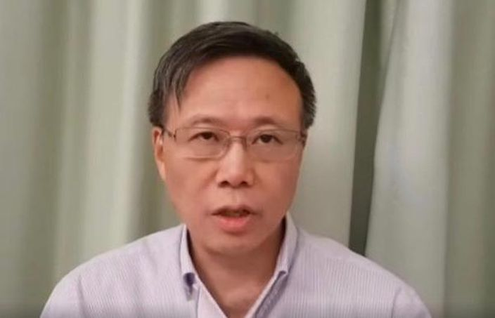 理大校长滕锦光今早终于以录像发言。