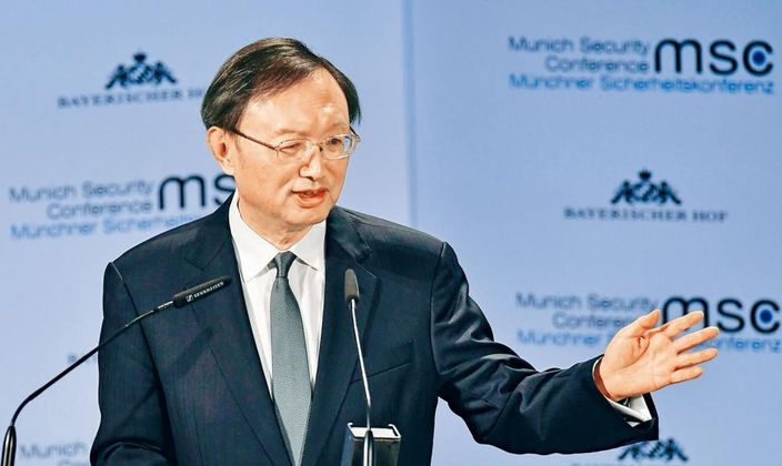 中央外事工作委員會辦公室主任楊潔篪