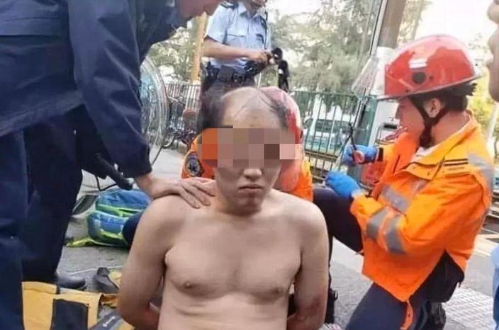 董X輝當場被捕。