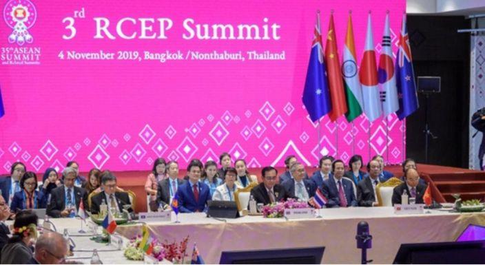 15個RCEP自貿區協定參與國將於明年簽署協議。AP圖片