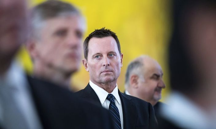图:美国驻德国大使格雷内尔。AP图片