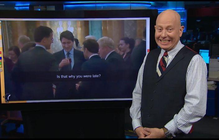 加拿大电视台当笑话播出。