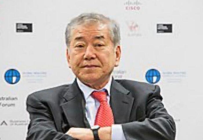 韓國總統統一外交安全事務特別助理文正仁。網上圖片