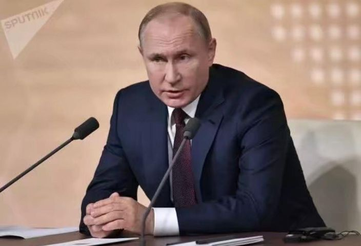 俄羅斯總統普京。AP圖片