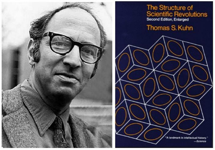科學哲學家湯瑪斯.庫恩(Thomas Samuel Kuhn)於1962年在他的代表作《科革命的結構》
