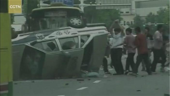 2009年新彊烏魯木齊暴亂。