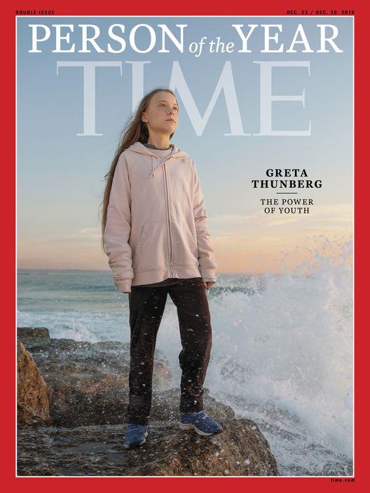 通貝里成為時代雜誌全球風雲人物。(AP圖片)