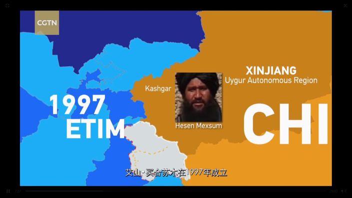 東伊運1997年在新疆喀什由買合蘇木成立。
