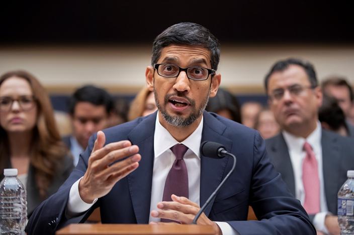 印度人才鼎盛,包括Google CEO皮查。(AP图片)