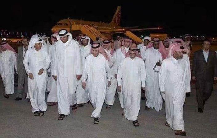 卡塔爾王子們回國。