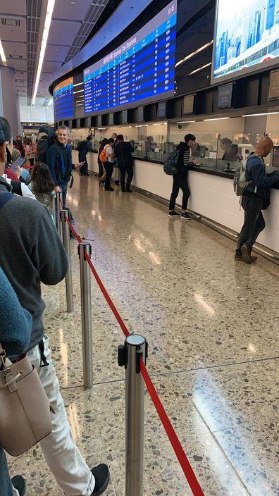 西九高鐵站不少人退票。