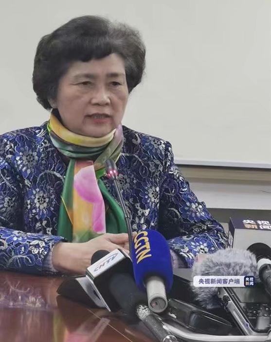 中國工程院院士、感染病學家李蘭娟。