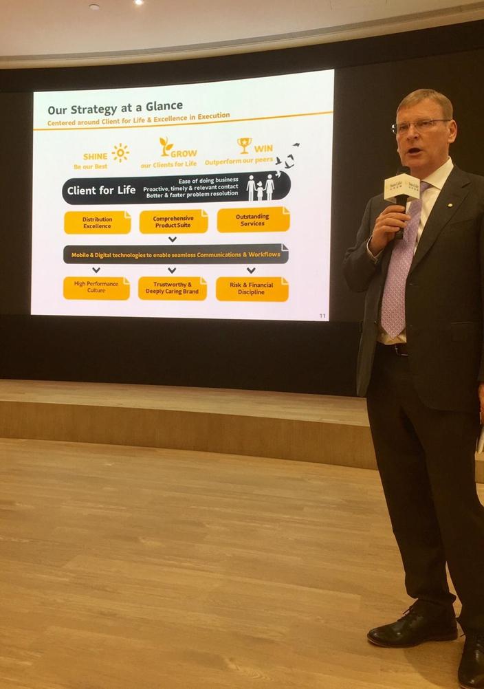 香港永明金融行政總裁趙法衡(Fabian Jeudy)談發展方向