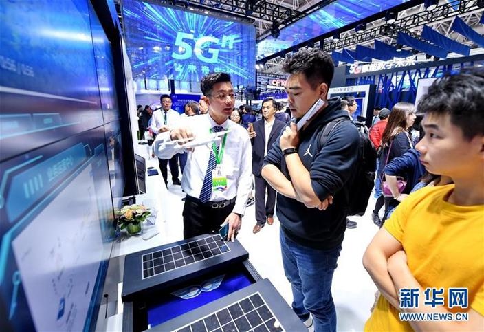 中國數字經濟規模逾31萬億元人民幣,成為經濟新引擎。(新華網圖片)