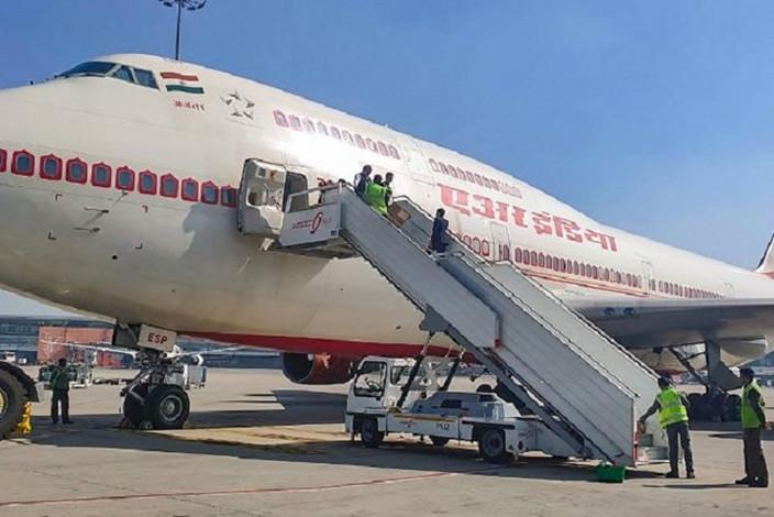 印度从武汉撤侨700人无一感染。