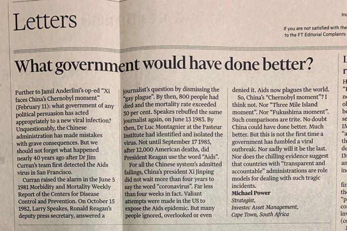 南非基金經理撰文反擊,問哪個國家能比中國做得更好呢?