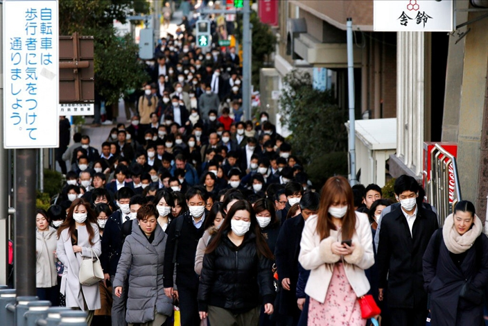 全世界為口罩供應愁爆。(AP圖片)