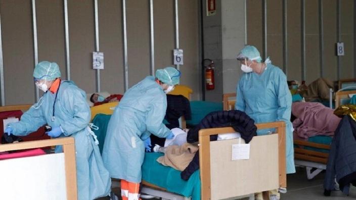 今日新增確診情況。西班牙成為歐洲主要疫情爆發區之一。
