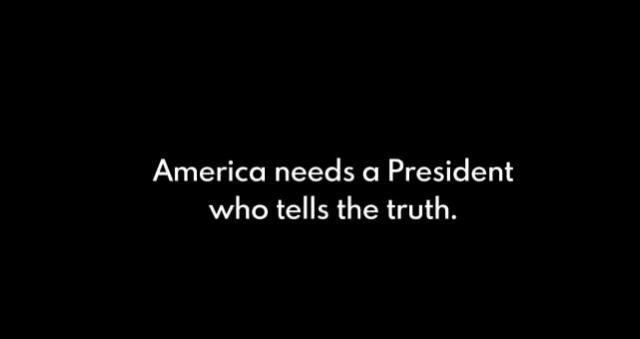 廣告的結論差不多說要換總統了。