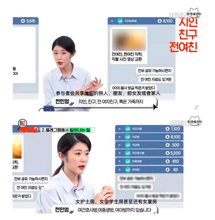 韓國媒體人解說「N號房」運營模式。