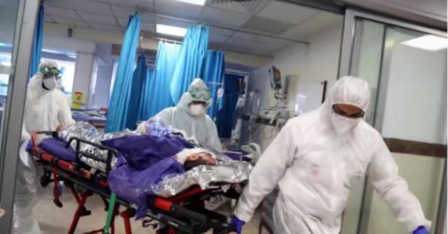 伦敦的医院已不堪重负。