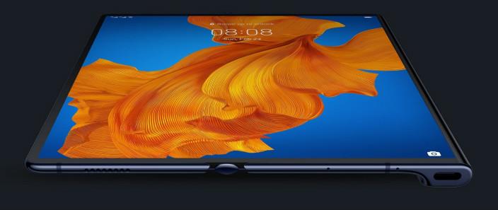 華為 Mate Xs今次賣點是8吋FullView摺合式屏幕。華為圖片