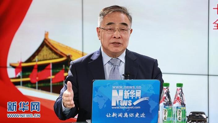 中藥界代表人物張伯禮提倡與外國專家制定中藥國際化標準。(新華網圖片)