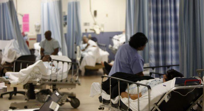 美國醫院極缺呼吸機。