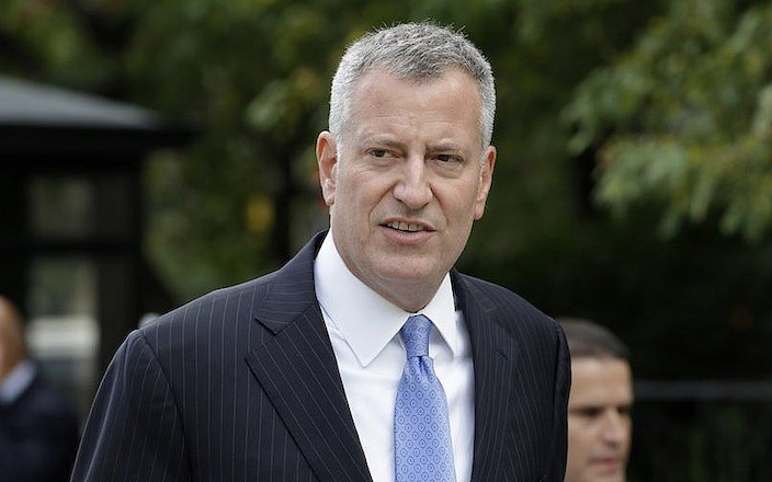 紐約市長白思豪。