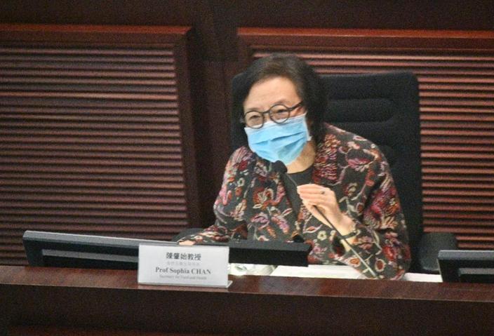 食物及衞生局局長陳肇始話警方會調查跟進。