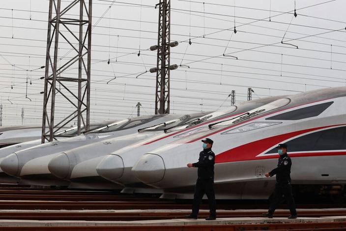 高鐵將有效為實現地域垂直產業鏈作出貢獻。(AP圖片)