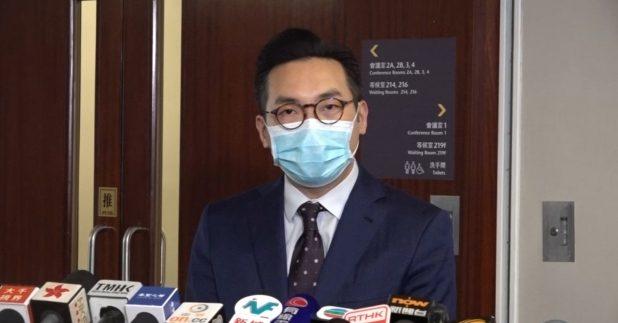 公民黨黨魁楊岳橋。資料圖片