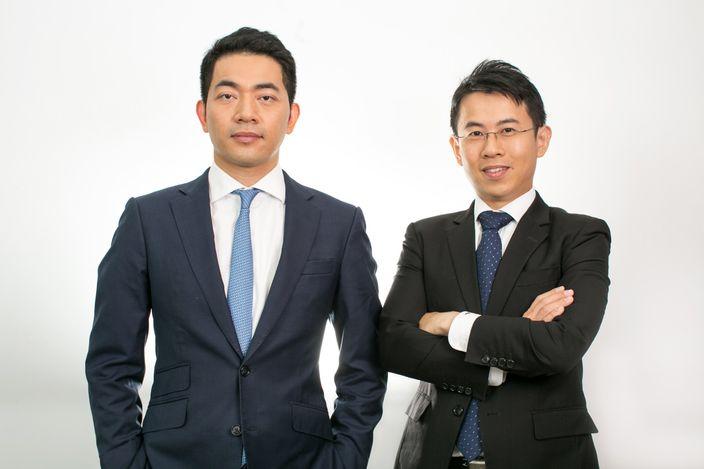Aqumon聯合創始人雷春然(右)及黃耀東(左)