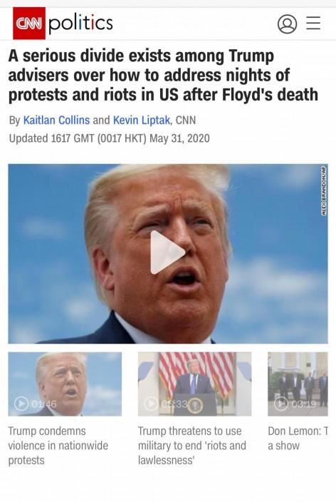 CNN爆料。