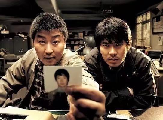 電影《殺人回憶》劇照。