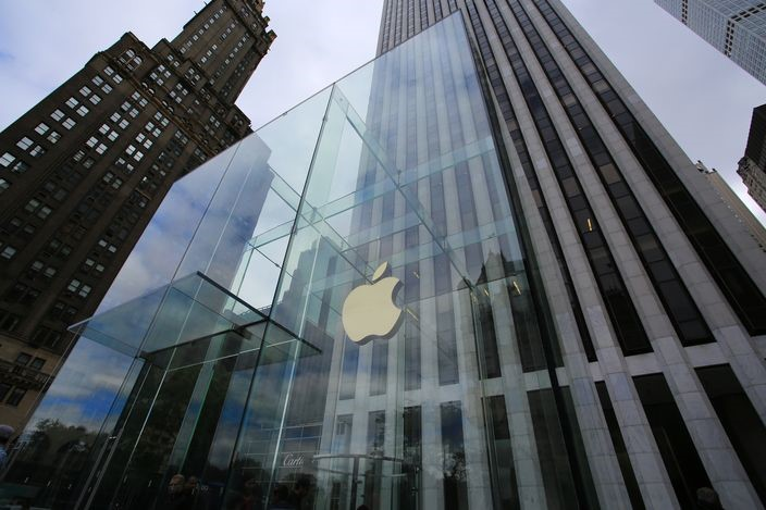 網上流傳一則「洩漏」了的蘋果公司考題。(資料圖片)