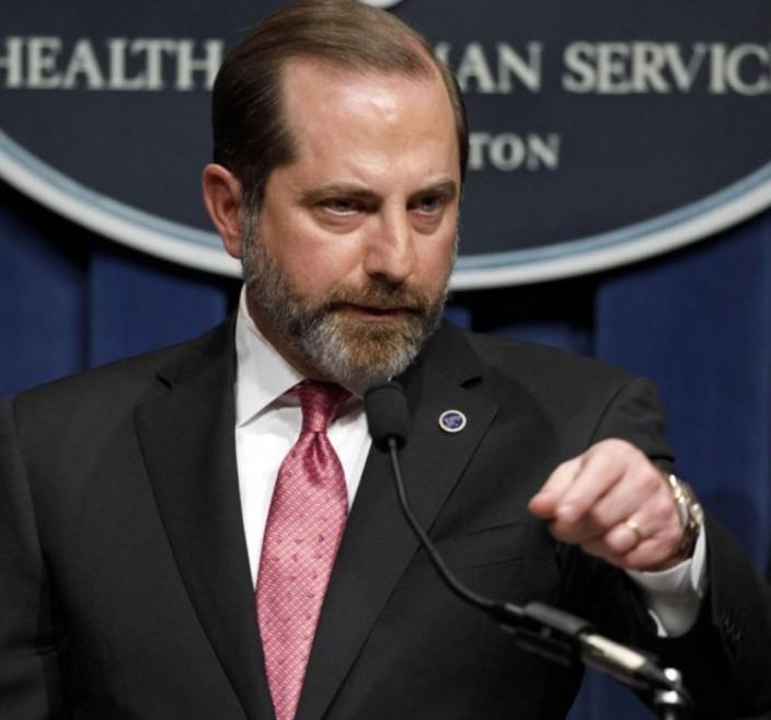 美國衛生部長艾薩。