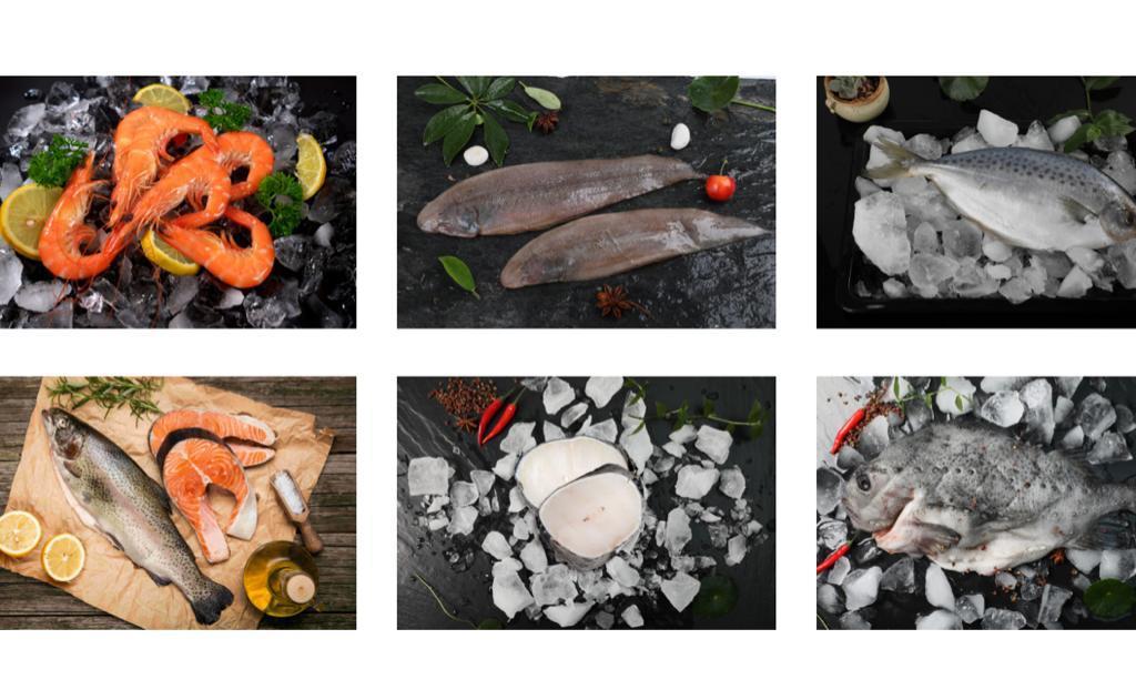 據凱洋海鮮的官網介紹,上述產品分別來自泰國、象牙海岸、阿根廷、智利和冰島。