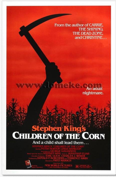 1984年的恐怖片《玉米田的小孩》