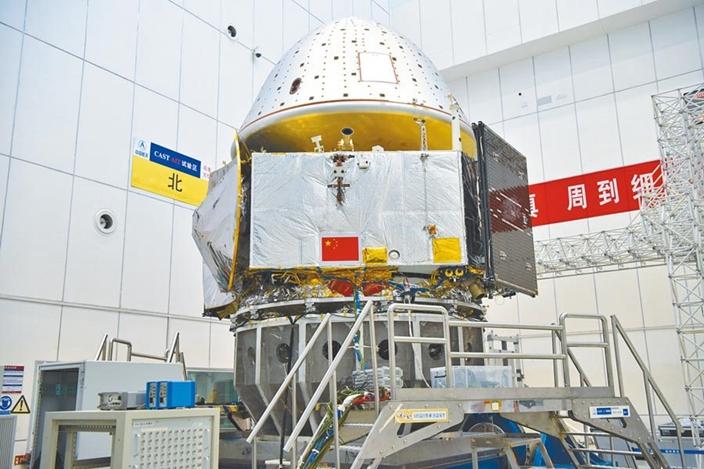 中國「天問一號」火星探測器,是自主研發的科技產品。(中新社圖片)