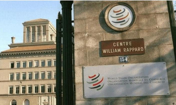 WTO總部。AP圖片