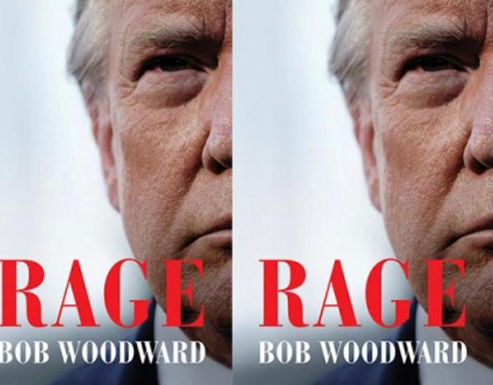 伍德沃德寫特朗普的新書《憤怒》(Rage)。