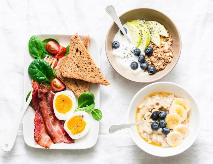 要吃早餐。