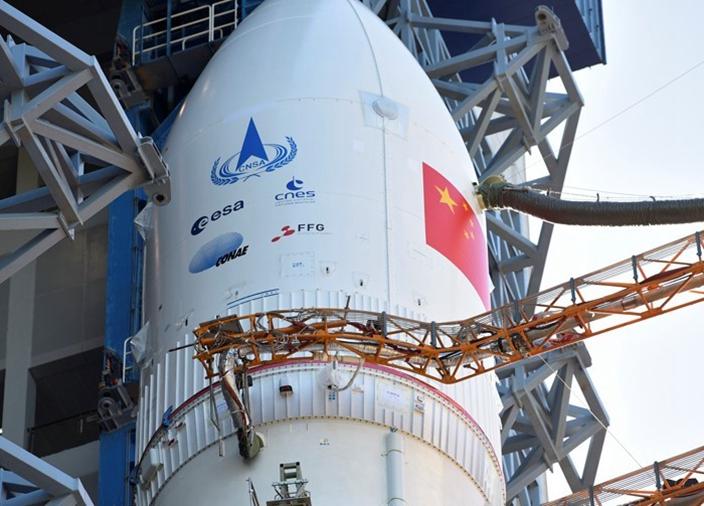 中國航天計劃有可能被對手國家在地面進行圍堵。(網上圖片)