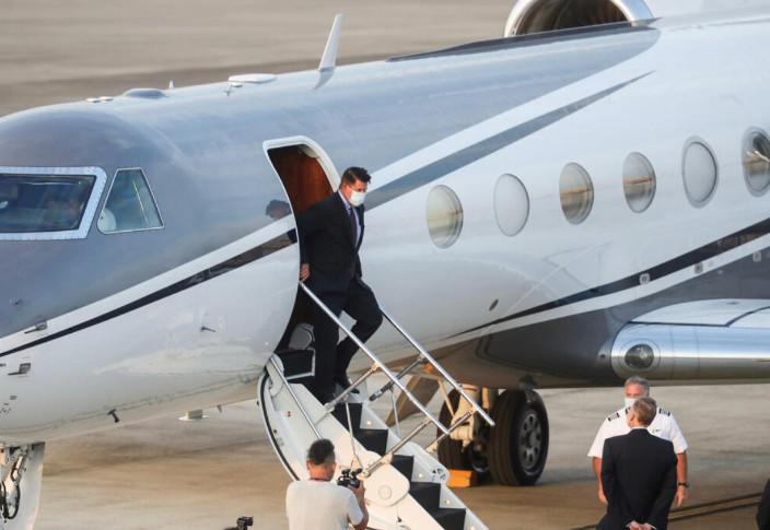 美國副國務卿克拉奇抵台。