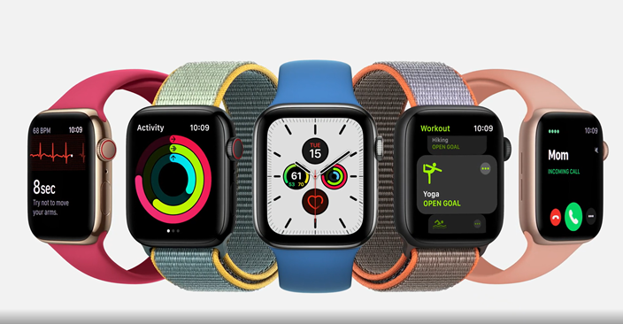 Apple Watch新系列外型年輕,富有朝氣。(蘋果網站截圖)